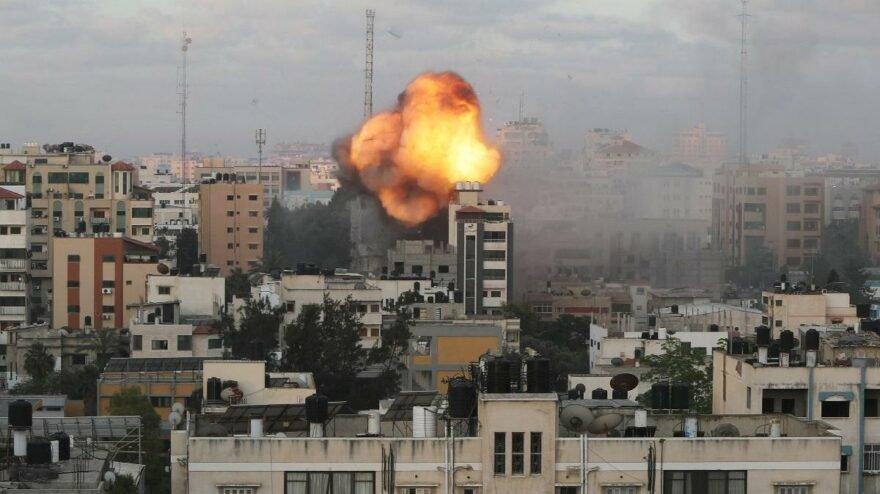 İsrail, son 24 saatte Gazze'de 120 noktayı vurdu