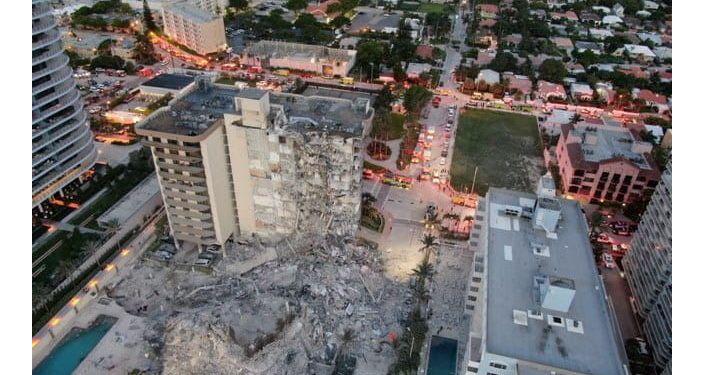 ABD'de çöken 12 katlı binada yaklaşık 100 kişiden haber alınamıyor: 'Hala umut var'