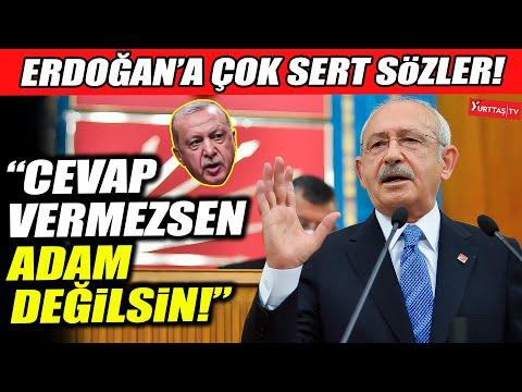 """Kemal Kılıçdaroğlu Erdoğan'a ateş püskürdü! """"Cevap vermezsen adam değilsin!"""""""