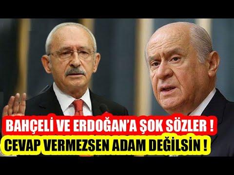 Kılıçdaroğlu Suskunluğunu Bozdu ve Bahçeli'ye Demediğini Bırakmadı !