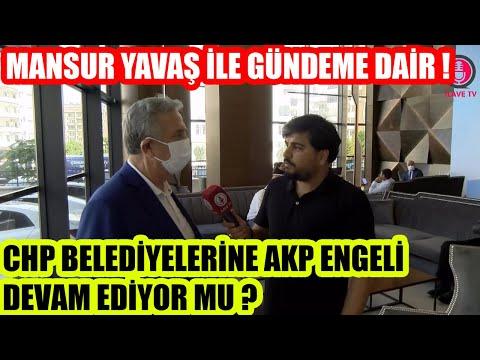 Mansur Başkan'a Sorduk ! AKP Engeli Devam Ediyor mu ?