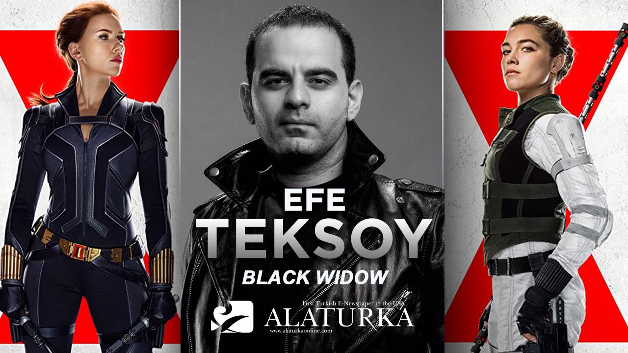 """Sinema Yazarı/Film Eleştirmeni Efe Teksoy yazdı, Gölgelerin Ardındaki Casus """"Black Widow"""""""