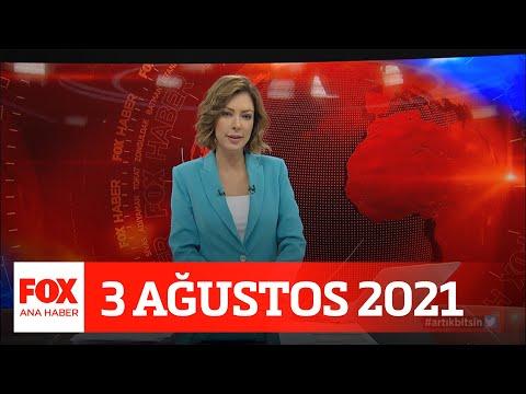 İHA kamerasından yangına müdahale… 3 Ağustos 2021 FOX Ana Haber
