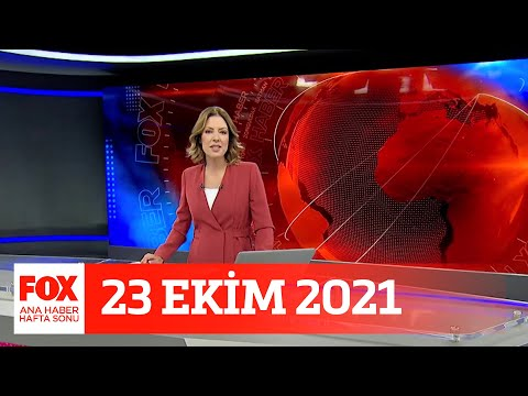 Alım gücü düşünce… 23 Ekim 2021 Gülbin Tosun ile FOX Ana Haber Hafta Sonu