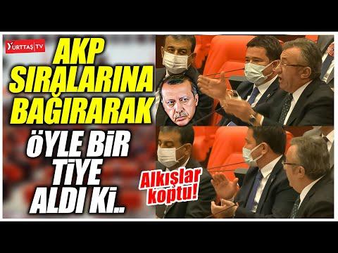Engin Altay AKP sıralarına bağırarak öyle bir tiye aldı ki.. 'Bari Cumhurbaşkanı'nı koruyun ya!'