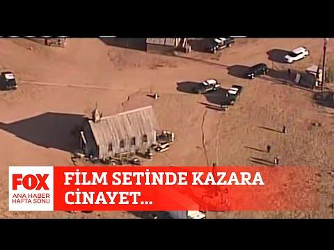 Film setinde kazara cinayet… 23 Ekim 2021 Gülbin Tosun ile FOX Ana Haber Hafta Sonu