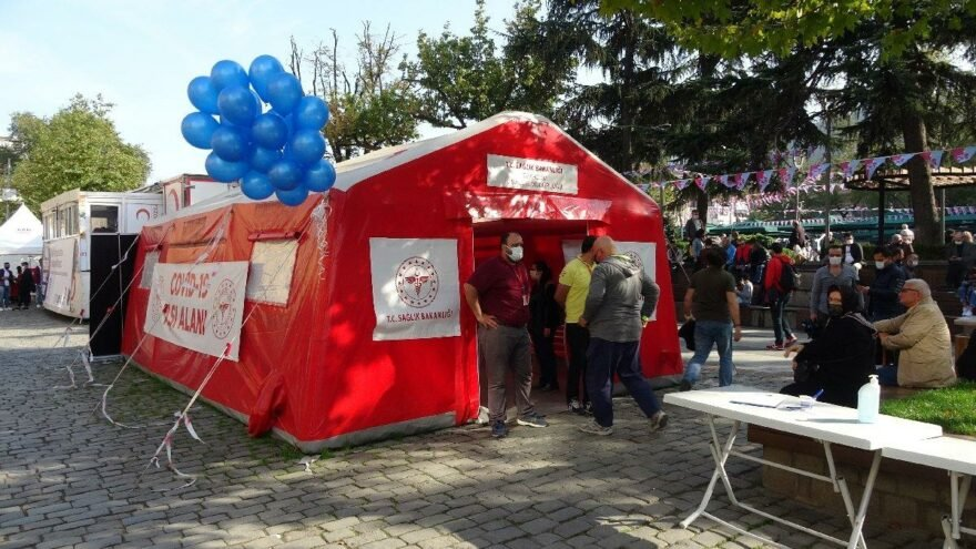 Trabzon İl Sağlık Müdürü: Aşı oranında yüzde 75'lere yaklaştık