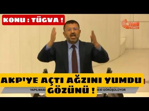 Veli Ağbaba Mecliste AKP'ye Açtı Ağzını Yumdu Gözünü ! Konu: TÜGVA