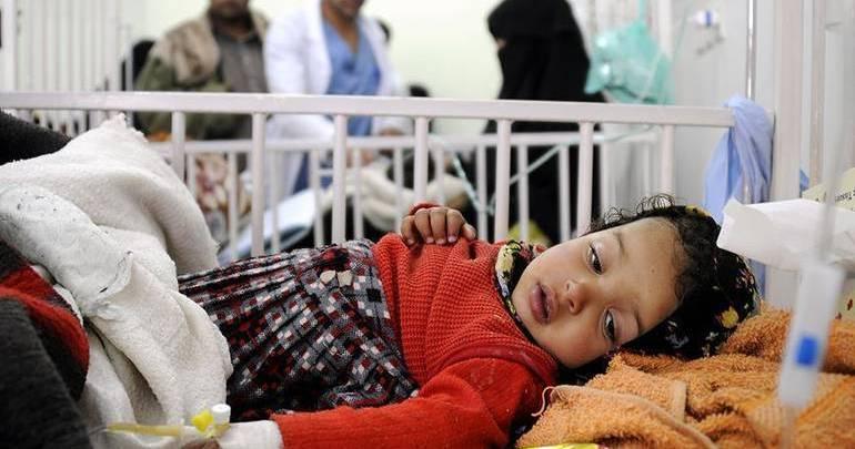 Photo of الأمم المتحدة: أكثر من مليون حالة اشتباه بالكوليرا في اليمن منذ 2018