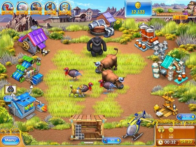 FREE DOWNLOAD FARM FRENZY 3 (PORTABLE) | yashgamesworld