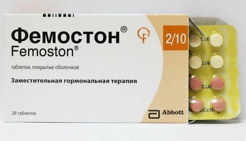 دواء فيموستون Femoston دواعي الاستعمال والاثار الجانبية