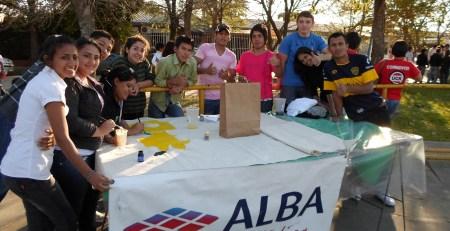 Alba Artística apoyando a alumnos de Corrientes
