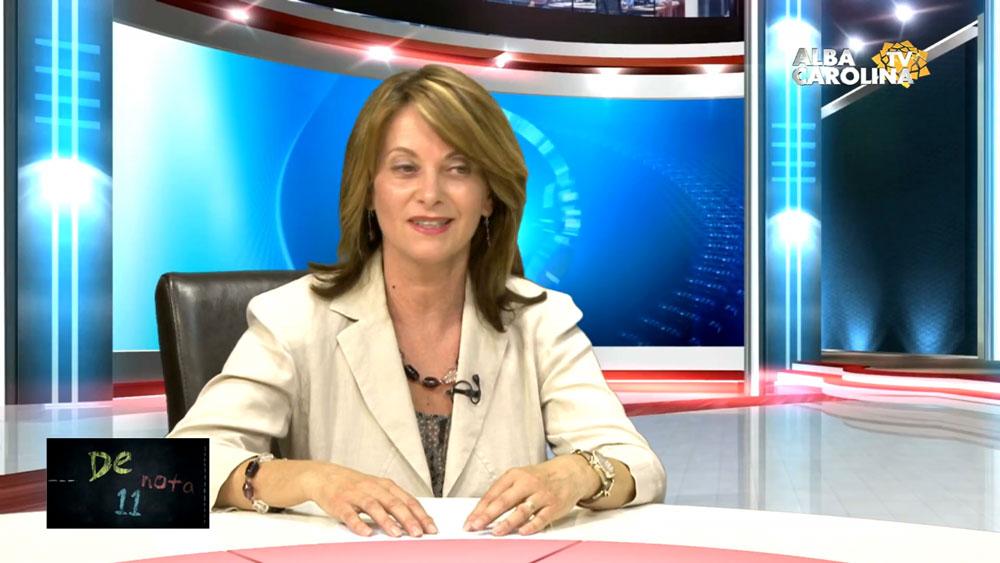 Carmen Sinc, Director Colegiul Tehnic ''Alexandru Domșa''  Alba Iulia, la Nota 11