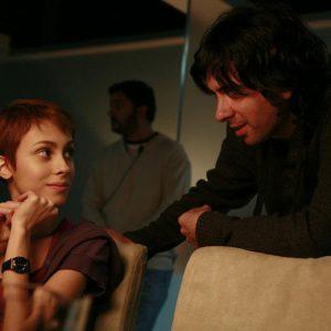 Grabando película Verbo - Alba García