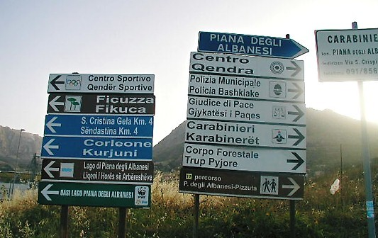 Piana degli Albanesi, Sicilia