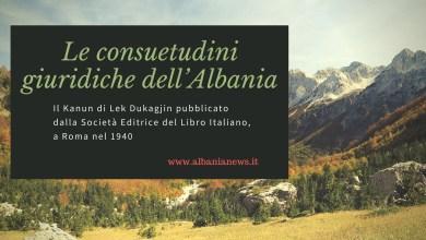 Le Consuetudini Giuridiche Dell'Albania