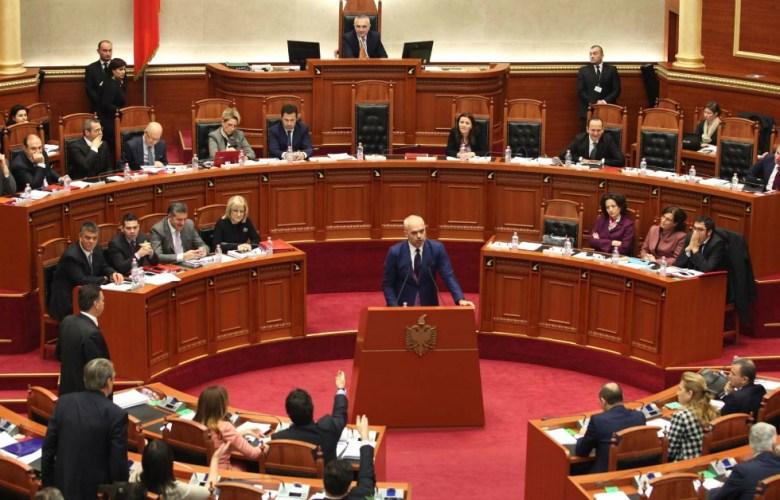 Parlamento della Republica Albanese Monarchismo