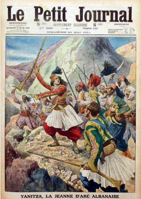 New York Times, 9 maggio 1911 - La Giovanna d'Arco Albanese