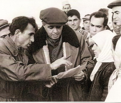 TIRANA 1967 - Enver Hoxha (centro foto) alle prese con i bisogni del suo popolo! Il suo diabolico regime produsse, in quasi mezzo secolo, lutti ed immani distruzioni