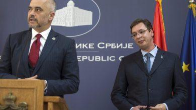 Edi Rama Vucic Albania Serbia UE