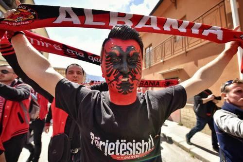 Tifoso Albanese