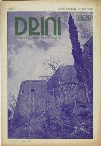 La Copertina Del Numero 8 Della Rivista, Pubblicato Il Primo Ottobre 1941