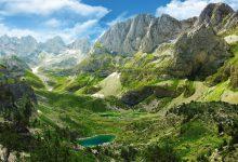 Le Alpi Albanesi, cresta del Lago Maja e Jezercës, Tropojë
