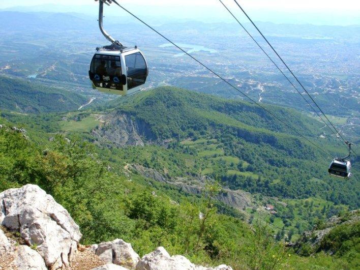 Monte Dajti, Tirana