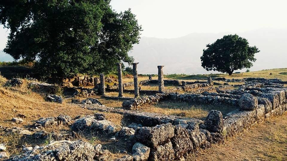 Argirocastro, Sito di Antigonea