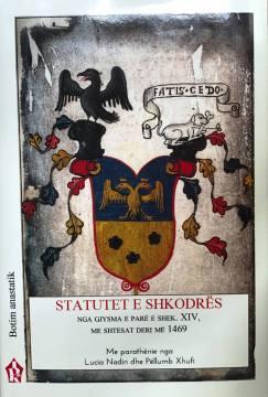 Biblioteca Nazionale A Tirana Presenta La Stampa Anastatica Degli Statuti Di Scutari 8