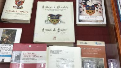 Museo Correr Biblioteca Nazionale A Tirana Presenta La Stampa Anastatica Degli Statuti Di Scutari 5 Opt