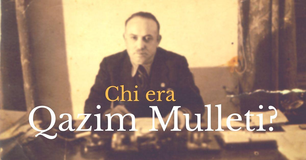 Prefetto di Tirana Qazim Mulleti