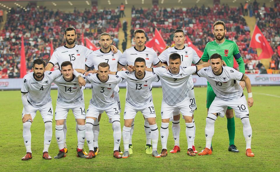 Nazionale Albanese Turchia Albania