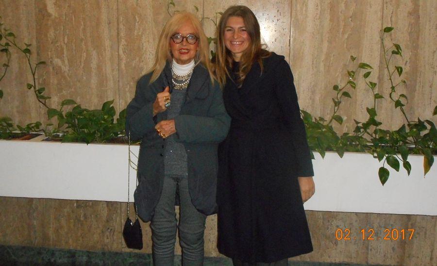 Carlotta Tagliarini e Marbjena Imeraj