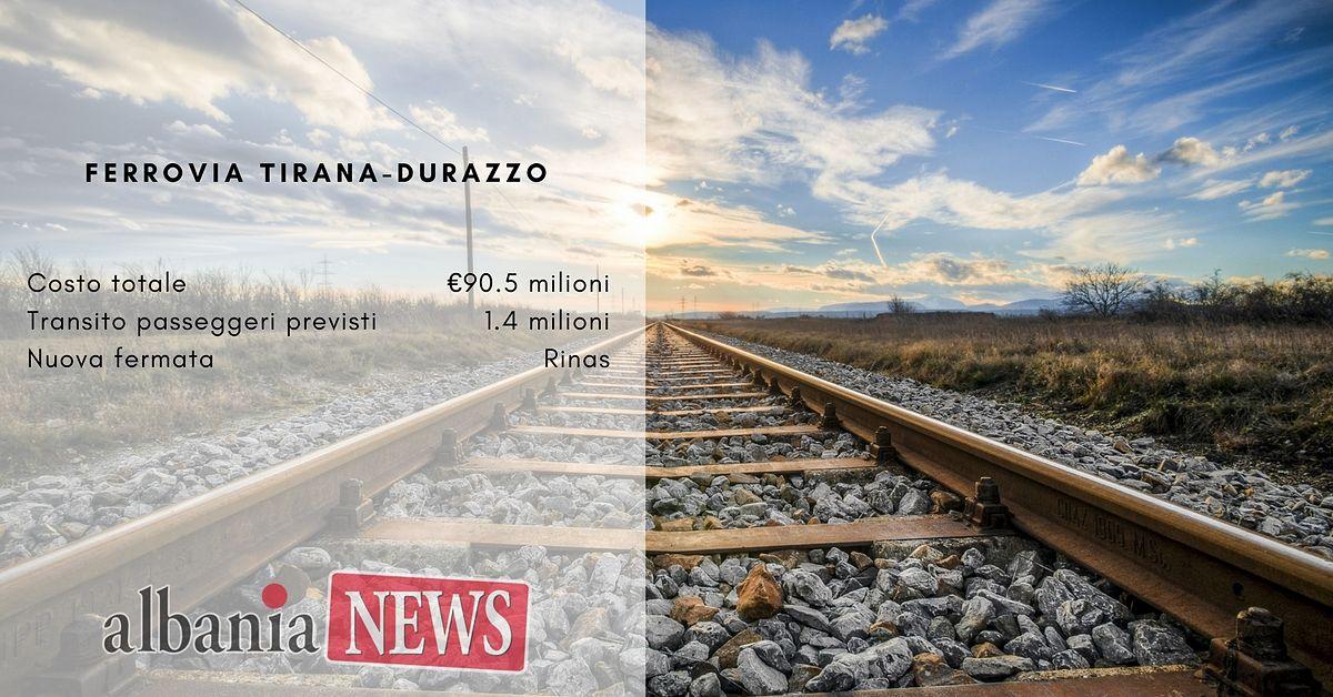 Ferrovia Tirana-Durazzo