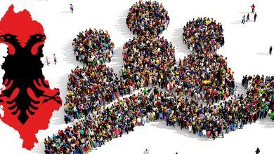 Crescita naturale della popolazione albanese in calo
