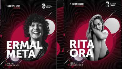 Ermal Meta Rita Ora Daddy Yankee Concerto A Tirana