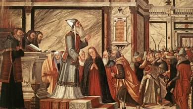 Vittore Carpaccio, Scuola Degli Albanesi, Miracolo Della Verga Fiorita