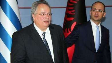 Nikos Kotzias e Ditmir Bushati