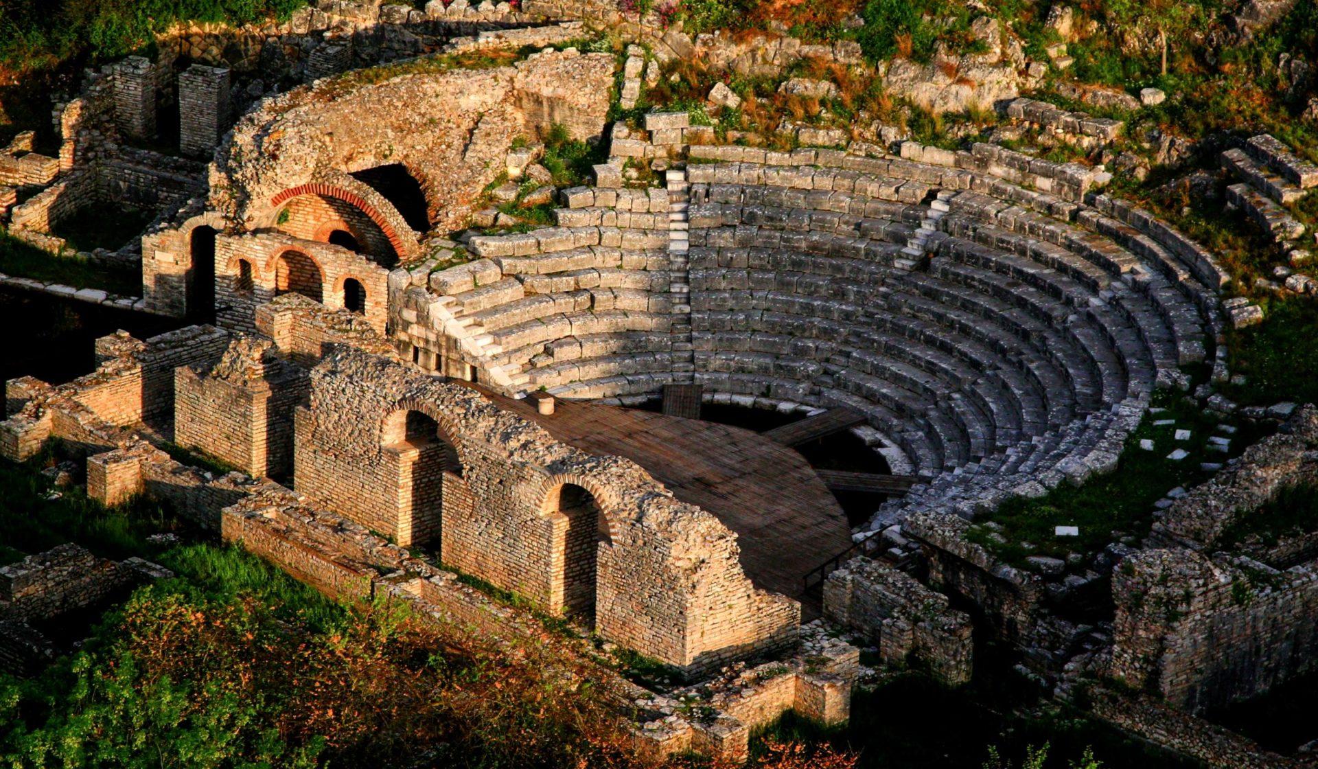 Turismo culturale in Albania, sito archeologico di Butrint