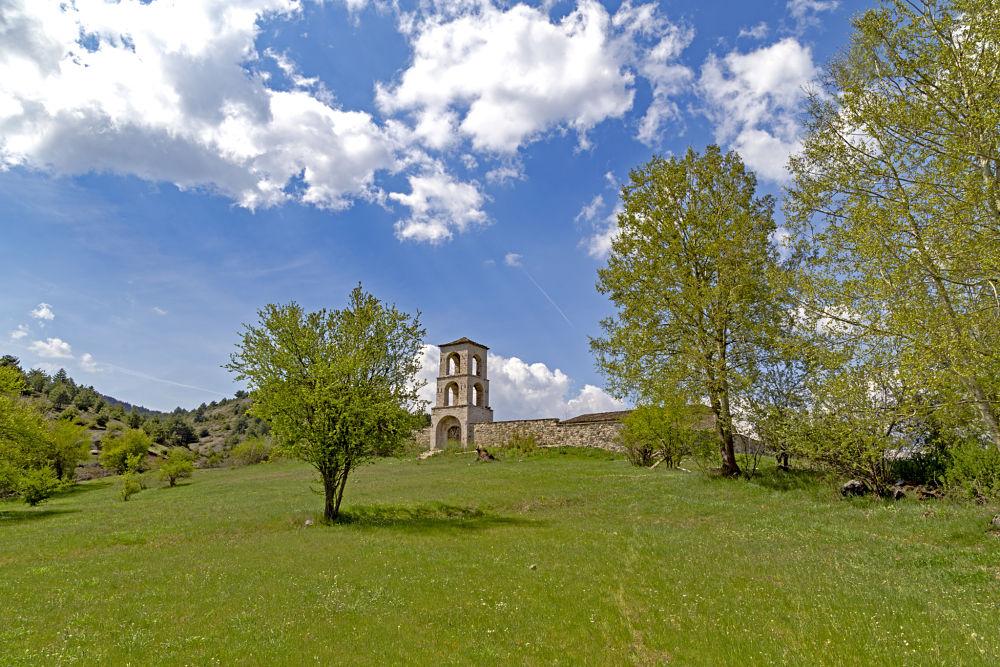 Chiesa di San Ilia, villaggio di Voskopoja, Korça, Albania