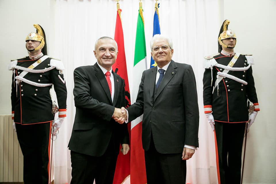 Ilir Meta Sergio Mattarella