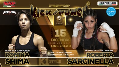 Poster Shima Vs Sarcinella