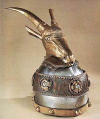 Helmet of Scanderbeg in the Kunsthistorisches Museum, Vienna