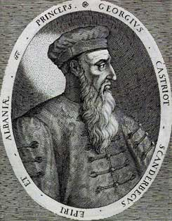 Portrait of Scanderbeg