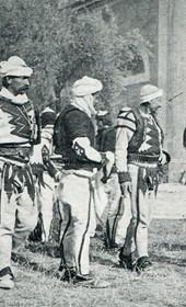 Jäckh068: Kosovo Albanian fighters (Photo: Ernst Jäckh, 1911).