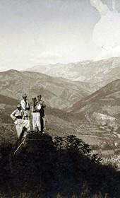 "Jäckh146: ""View from the springs of Saint Alexander (Kroi i Shën Llesh"