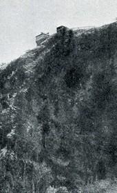 """Jäckh157: """"Mountain manor of Bishop Docci [Doçi], 1300 m. in elevation"""" (Photo: Ernst Jäckh, ca. 1910)."""