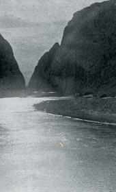 "Jäckh210: ""The rapids on the Vardar River near Demirkapu,"" now Demir Kapija in Macedonia (Photo: Ernst Jäckh, ca. 1910)."