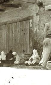 "Jäckh301: ""Street scene in Albania 2"" (Photo: Ernst Jäckh, ca. 1910. Courtesy of Rare Books and Manuscript Library, Columbia University, New York, 130114-0060)."